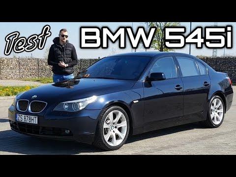 2004 BMW 545i E60 - Godny Następca E39. E60 Ma Już 16 Lat!