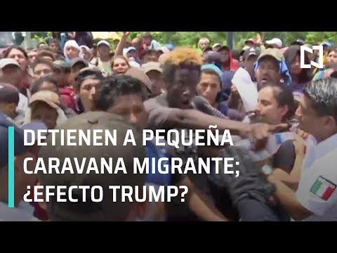 Caravana Migrante; nueva caravana migrante es detenida en Chiapas - En Punto con Denise Maerker