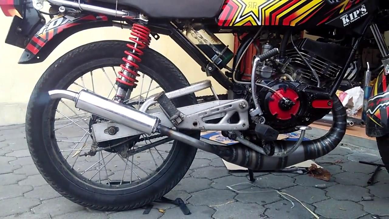 jual knalpot pdk rx king racing 0812 3067 6200 - youtube
