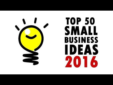 50 Best Small Business Ideas 2016 | How To Make Money?