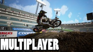 Trying out Multiplayer - Supercross the game 2