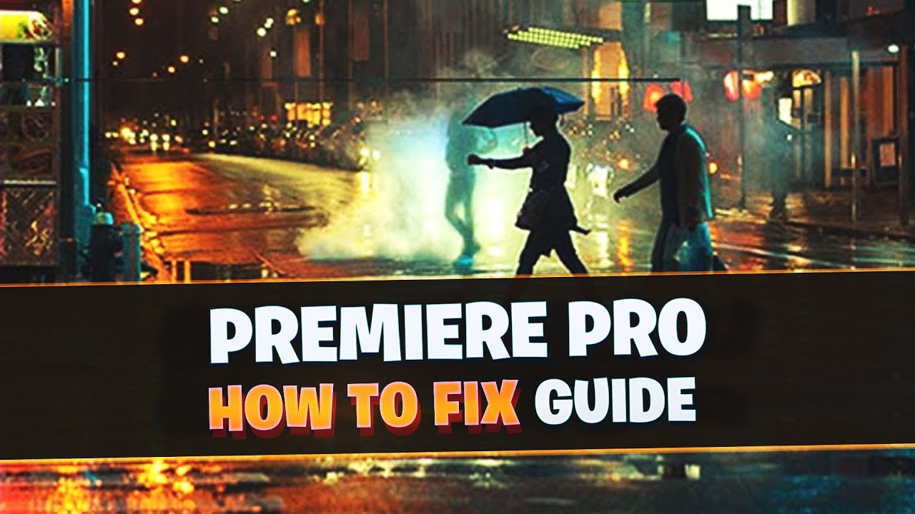 [FIX] Adobe Premiere Pro could not find any capable video play modules….