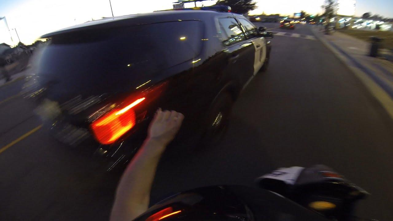 Street Bike Vs Car Crash