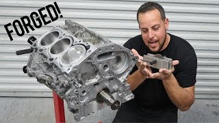 homepage tile video photo for Building a Forged VQ37 - Rotating Assembly