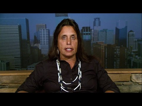 Native Activist Winona LaDuke: Pipeline Company Enbridge Has No Right to Destroy Our Future