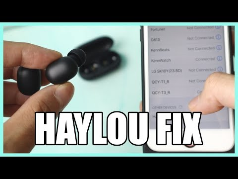 FIX Haylou GT1 PAIRING PROBLEM! - Re-Pair Factory Reset Guide