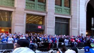Giants Chant NEW YORK GIANTS SUPER BOWL PARADE