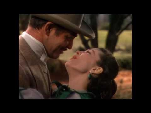 Rhett Butler and Scarlett O'Hara, Gone with the Wind