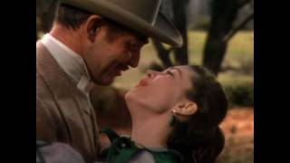Rhett Butler And Scarlett O'hara, Gone With The Wind