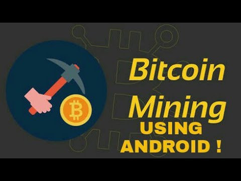 Do Bitcoin Mining using your Android phone! (Easiest Method)