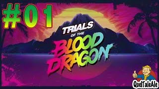 Trials of the Blood Dragon - Gameplay ITA - #01 - Proviamolo