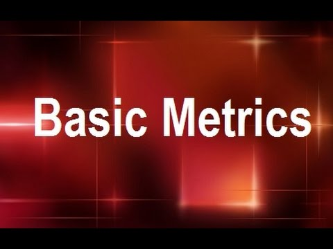 MicroStrategy - Basic Metrics - Online Training Video by MicroRooster