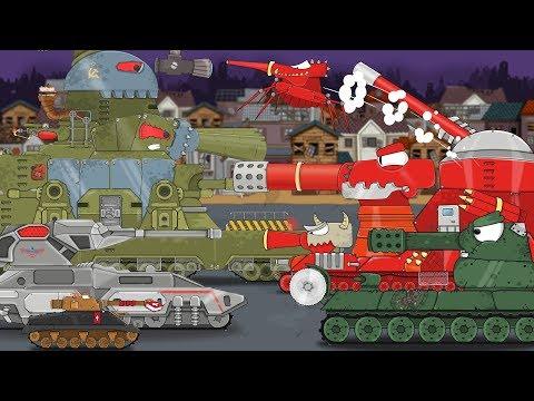 Монстры из ада Все серии Мульт про танки