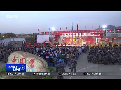 Chinese ambassador to South Sudan holds special reception