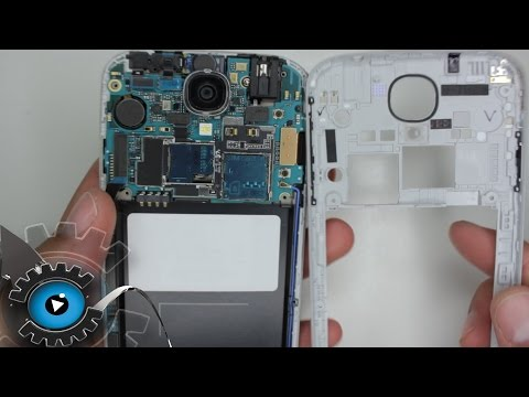 Samsung Galaxy S4 Glas Display Wechseln Tauschen Reparieren [Deutsch/German]Disassembly Glass repair