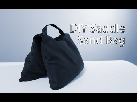 DIY Saddle Sand Bag   Backdrop Weight, Light Stand Sand Bag, Theater Weights