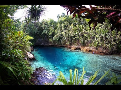 Enchanted river & Tinuy An waterfalls  Mindanao Philippines