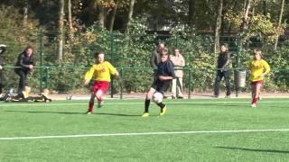 Wedstrijd U12 Berchem Sport - SK Reet seizoen 2011-2012.