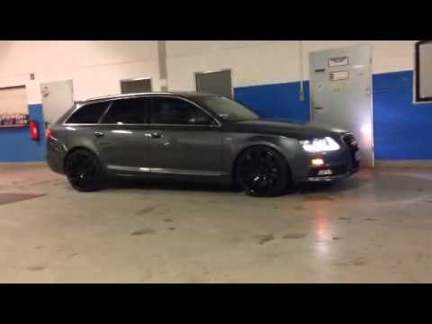 audi a6 4f first roll out on airride 20 cultwerk. Black Bedroom Furniture Sets. Home Design Ideas