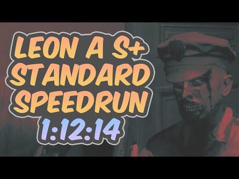 Resident Evil 2 Remake - Leon A Speedrun - 1:12:14