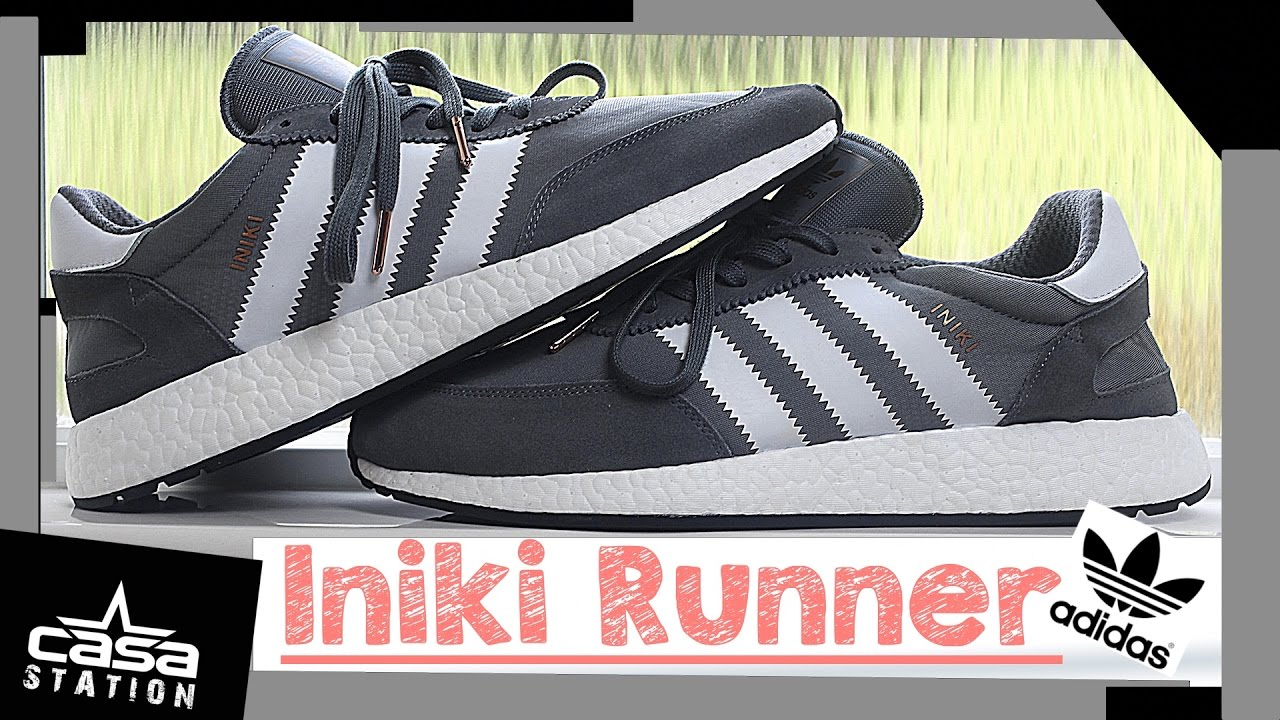 18 Adidas Iniki Runner zapato en gris / gris zapatilla Review Winter