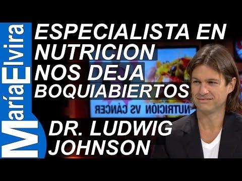 El Dr. Ludwig Johnson, especialista en Nutrición, deja boquiabiertos a todos