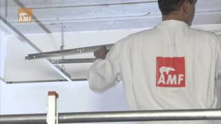 Installation Video Exposed System - suspended ceilings from Knauf AMF