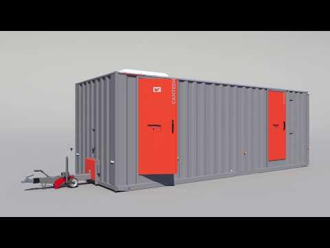 BOSS CABINS Welfare Cabin CGI Animation
