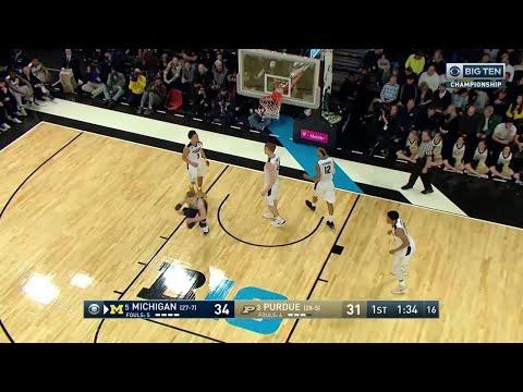 Michigan vs. Purdue: 2018 Big Ten Men's Basketball Tournament Highlights