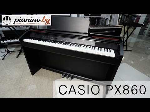 Обзор цифрового пианино Casio PX860 от Pianino.by