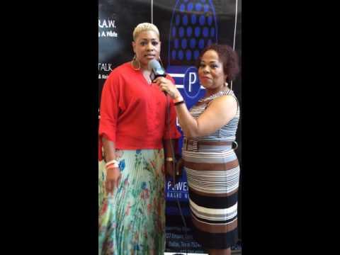 Ronda A White Interviewing Stronda Jackson