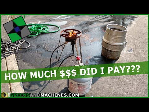 I Bought The Cheapest Homebrewing Equipment Off Of Craigslist & Dunkelweissen Brew Day