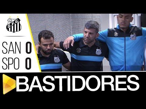 Sub-20 | Santos 0 x 0 São Paulo | BASTIDORES | Paulistão (12/11/16)