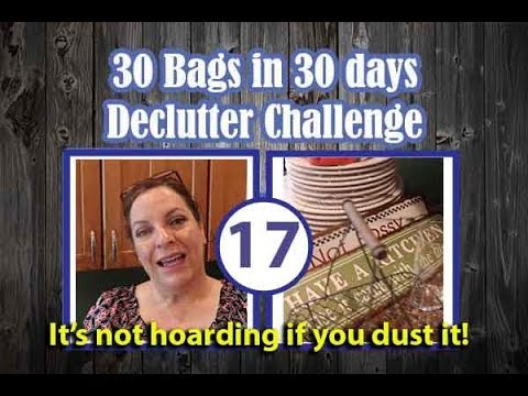 🛍️ 30 Bags in 30 Days Declutter Challenge ||July 2018 || Day 17 🛍️