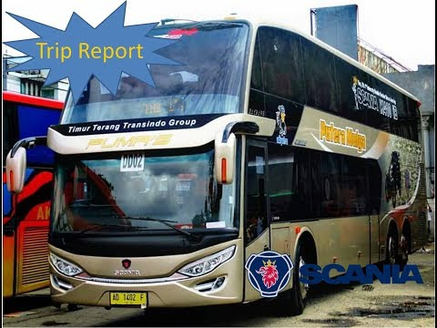 Trip Report Bus Putera Mulya SDD Scania K410iB  Solo - Jakarta