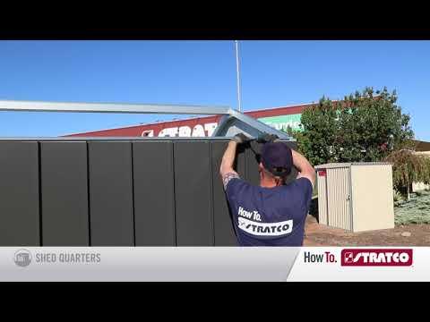 NEW Handi-Hilander Shed - Wall Cladding Installation