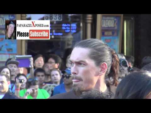 Steve Howey arrives to the Sons Of Anarchy Season 6 Premiere at Kodak Theatre in Hollywood