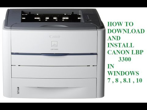 Canon lbp 3100 driver for windows 32 bit driver laptop.