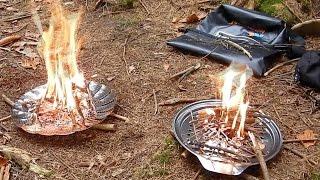 Bushcraft Firebowls from Household Goods