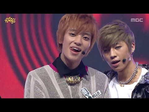 TEEN TOP - Miss Right, 틴탑 - 긴 생머리 그녀, Music Core 20130309