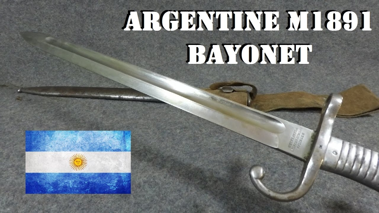 Bayonets of the World: Argentine M1891 Mauser Bayonet