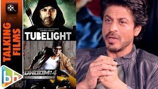 Shah Rukh Khan's EXCLUSIVE On Tubelight | Dhoom 4 | Raees