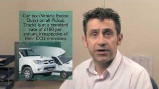 Pickup Truck Finance Advice - Commercial Vehicle Tax Facts for Employers