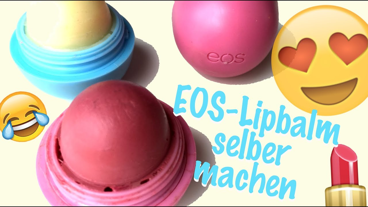 diy eos selber machen diy lipbalm lippenbalsam deutsch by gossipgold youtube. Black Bedroom Furniture Sets. Home Design Ideas