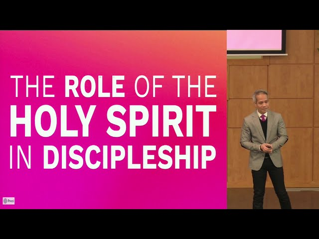 February 28, 2021: The Role of the Holy Spirit in Discipleship