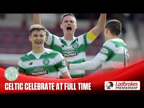 Full time celebrations as Celtic move in on title!