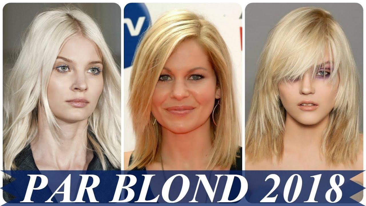 Modele De Coafuri Par Blond In Scari 2018