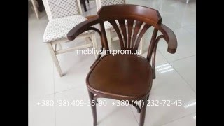 Деревянные стулья для дома. Стул Венский 600. Vienna Black Wood Dining Chair(Материал - бук отделка - ПУ лак Высота - 780 мм. Ширина - 520 мм. Глубина - 470 мм. Высота до сидения - 470..., 2014-11-06T11:31:16.000Z)