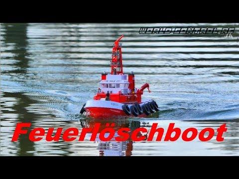 RC Schiff Adventure - Carson Feuerlöschboot ⚓️