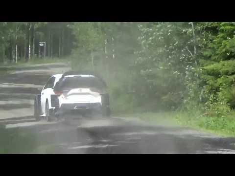 Esa Pekka Lappi Toyota Yaris wrc pre test rally Finland